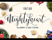 migthy heart ( font Duo)