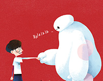 Crowd Lu x Baymax