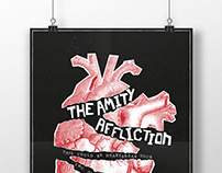 The Amity Affliction / Konzertplakat / Siebdruck