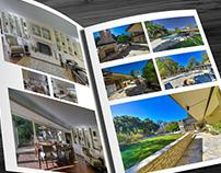 "Luxury Real Estate ""Big Book"" marketing piece"