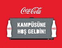 Coke'n Music Back to School Print Design