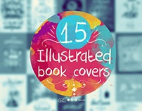 15 illustrated book covers #1