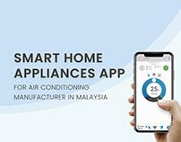 Smart home appliances application