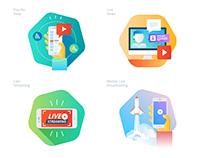 Material design icon set