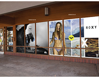 Quiksilver & DC Shoes Window Clings