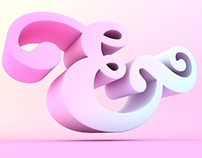 Sticky Sweet Ampersand