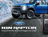 ION x Ford Raptor Homepage Banner