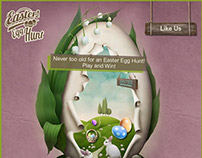 Easter Egg Hunt-Facebook application for TSC