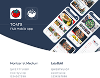 Tom's F&B mobile app