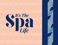 It's The Spa Life: Logo & Brand Identity