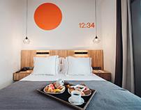 Numeral & Signage System of Sandom Hotel