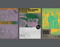 Kilo Lounge Posters (2017 — 18)