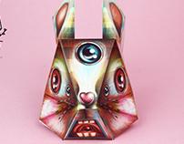 Mr. Rabbit Paper Toys Proyecto Ensamble