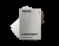Venice. A Document