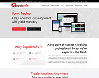 Forex Trading Responsive Template