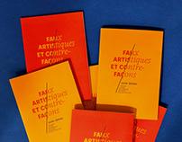 Guides Faux Artistiques & Contrefaçons