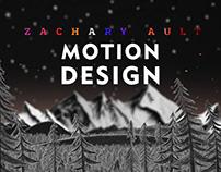 Motion Design Reel: Spring 2018