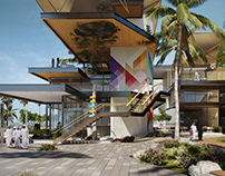 AlShati strip mall -Archdaily Competition
