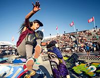 Skully DTM Skateboard Vector Art