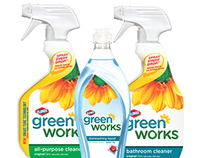 Green Works Rebranding