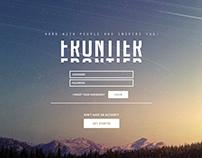 Frontier   Website Concept Art