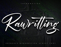 Rawriting Script Font