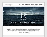 Blackbeard Studios Logo & Web Design