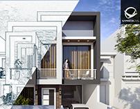 150 SQ. M. Modern House