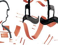 calligraphy illustration