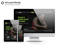 Fitrainer - Fitness & Gym Sport Muse Template