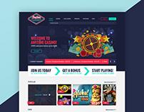 [UI/UX Design] Anytime Casino