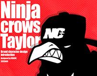 Ninja crow taylor extreme character design