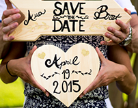 Invitation: Save the date card