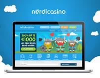 """New online casino brand """"Nordicasino"""""""