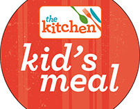The Kitchen Kid's Meal Labels