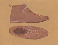 靴の絵 shoes