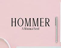 Hommer - Free Serif Font