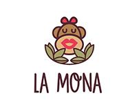 La mona - Logo