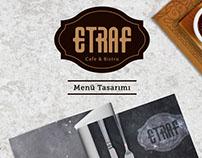 Etraf Cafe Menü ve Servis Ürünleri