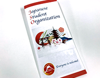 Japanese Student Organization Brochure