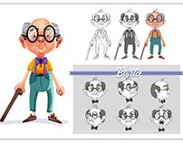 Character Design - Barto
