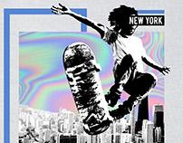 Skate in NY - Graphic Design