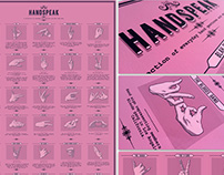 HANDSPEAK - A POSTER ABOUT HANDS