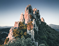 Glowing Peaks of Montmirail
