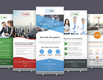ProBiz – Business and Corporate Roll Up Banners