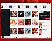 Music Web Application