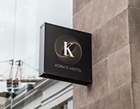 """Korki's Motel"" Brand Identity Project"