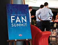 AFL & Club Industry Fan Summit Branding