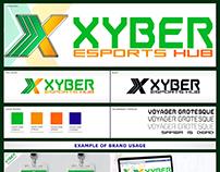 Xyber Esports Branding by Edgardo Gatbunton