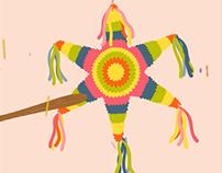 Pebbles Inc. Cinco De Mayo Piñata Giveaway Animation